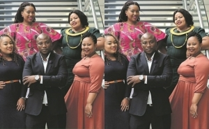 """One Wife Is Not Enough""- South African Man With Four Wives Urges Men To Emulate Him"